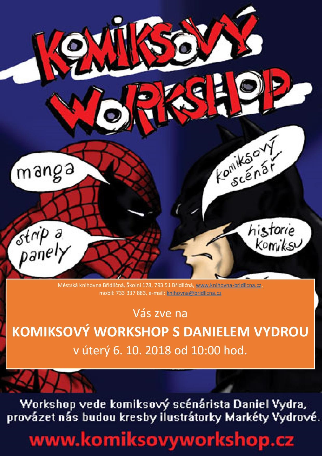 Komiksový workshop
